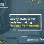 Survey: Data in FSP Decision-Making